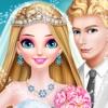 长发公主婚纱和化妆 - 结婚