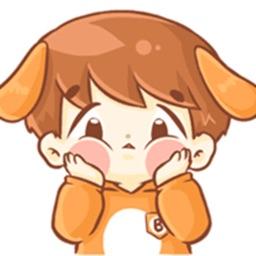 Puppy Baby Stickers