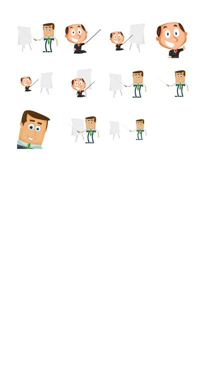 Businessman Sticker Pack!