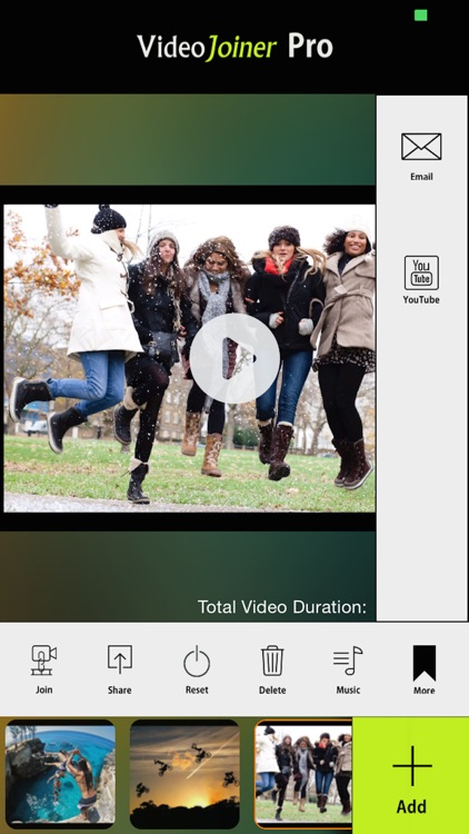 VideoJoiner - Video Editor to Merge & Edit Movies screenshot-3