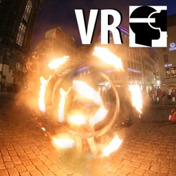 VR Fire Art Street Artists Virtual Reality 360