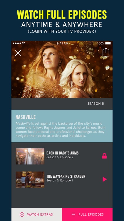 CMT – Watch TV Shows, Videos, Country & More screenshot-0