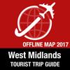 West Midlands Tourist Guide + Offline Map