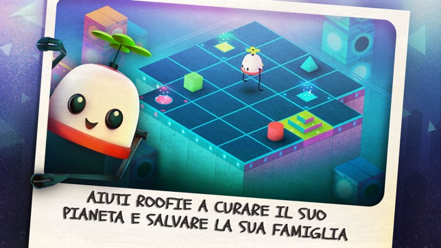 Roofbot: Puzzler On The Roof Screenshot