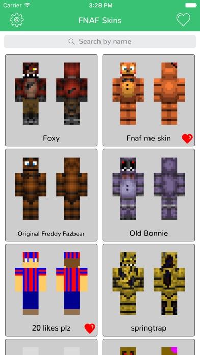 FNAF Skins For MCPE App Price Drops - Skins para minecraft pe de fnaf