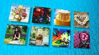 Wordsearch Revealer Flower Art screenshot two
