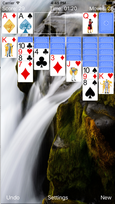 Solitaire New Classic screenshot two