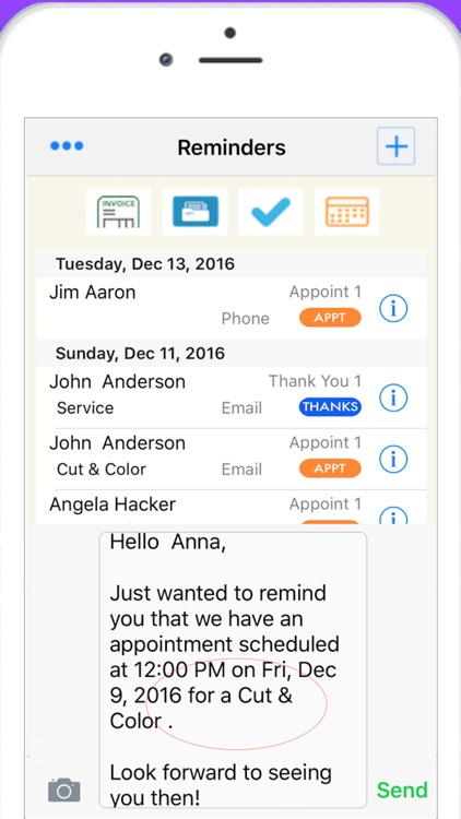 Nail Tech Pro Scheduling, Reminders & Sales screenshot-3