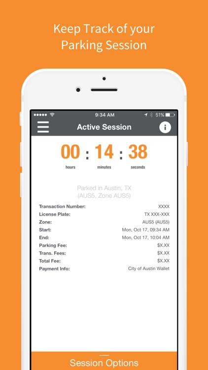 ParkX - Mobile Payments For Parking screenshot-3