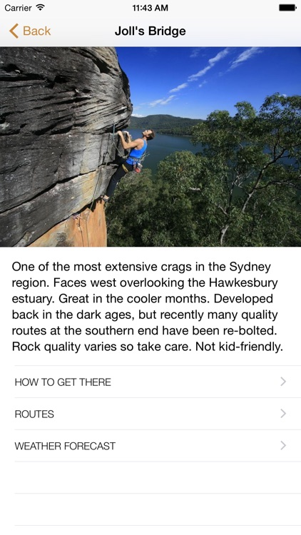 Sydney Climbing Guide screenshot-0
