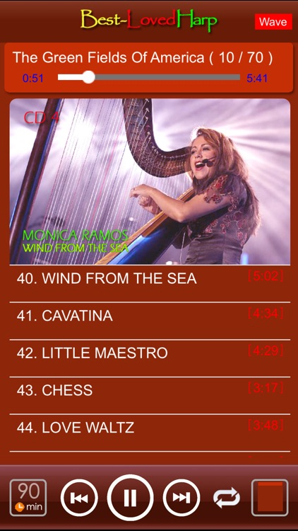 [6 CD] Best-Loved Harp 100