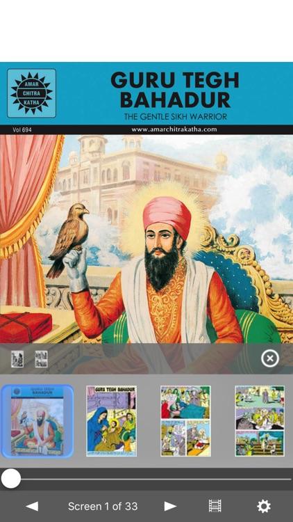 Sikh Gurus Digest - Amar Chitra Katha Comics
