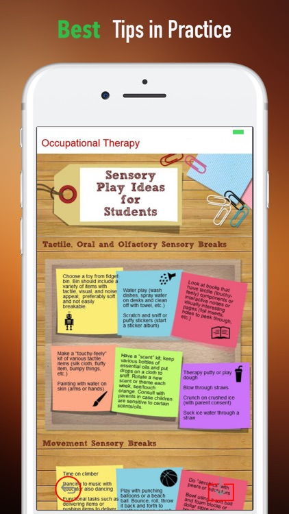 Occupational Therapy-Beginners Tips and Guide screenshot-3