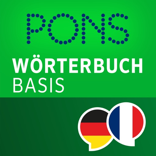 Dictionary French - German BASIC by PONS