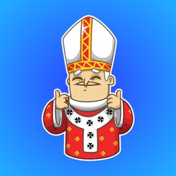 The Pope from Rome Stickers