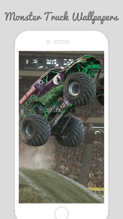 Home & Lock Screen Wallpapers For Monster Truck screenshot-3