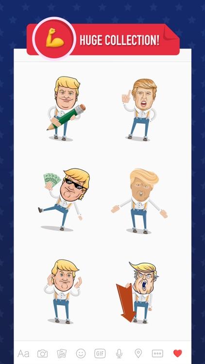 Trump Emoji - Stickers Keyboard for Donald Trump
