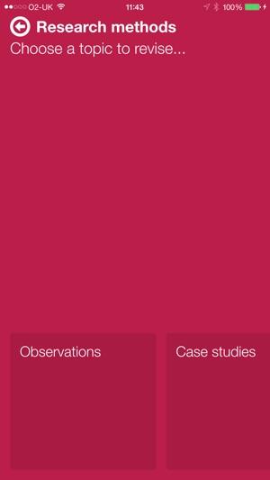 as level psychology case studies