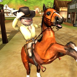 Wild West Cowboy Shooter & Horse Racing