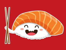 Cute Sushi Kawaii Sticker Pack