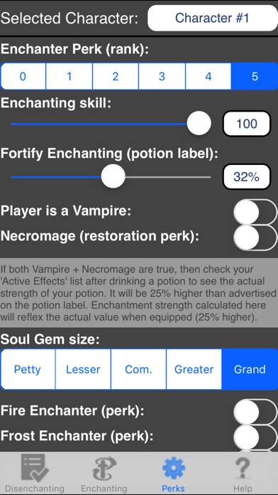 Screenshot for Enchanting for Skyrim ® in United States App Store