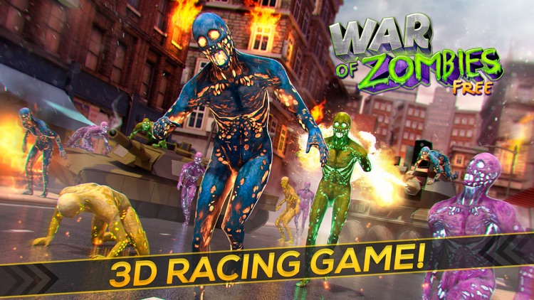 War of Zombies: The Tank Racing Game