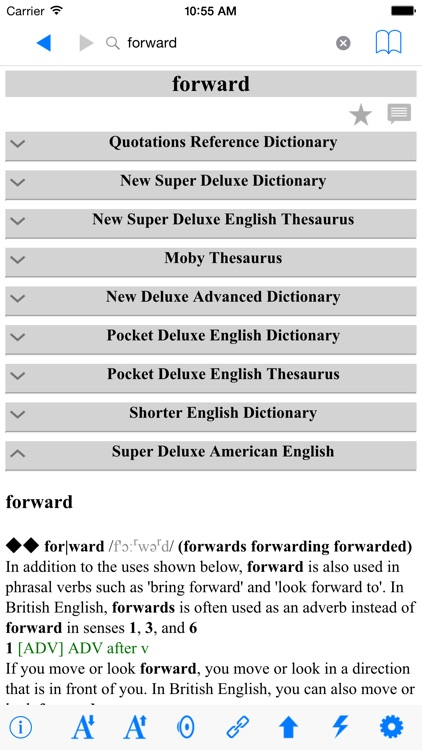 The English Dictionaries Complete Reference screenshot-0