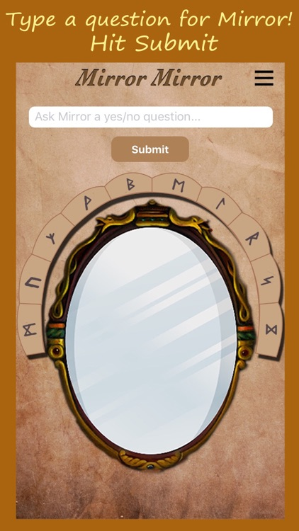 Ask Mirror Mirror - Magical Life Fortune Teller