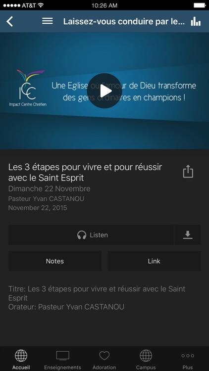 Impact Centre Chrétien screenshot-3
