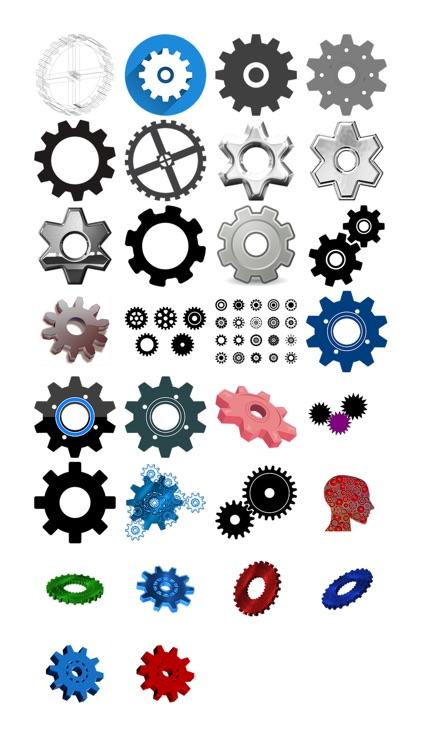 Gear Stickers