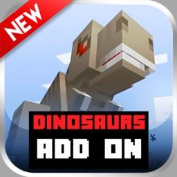 Dinosaur AddOns  Maps For Minecraft Pocket Edition