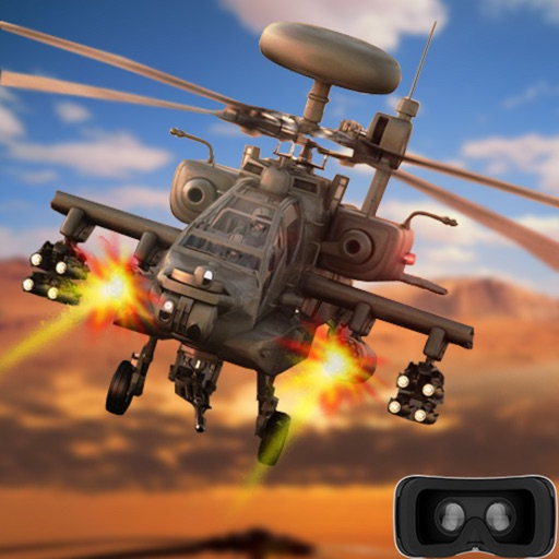 Vr Desert Gunship War : A Epic Battle-field Strike