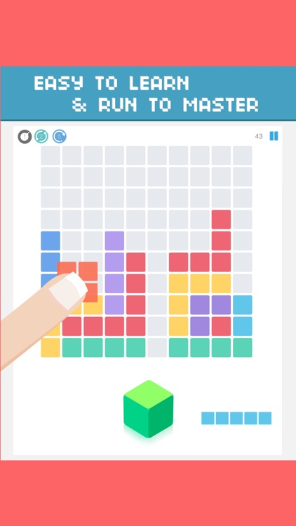100 jam - 1010 block puzzle Fall In Totally