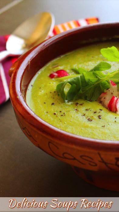 Delicious Soups Recipes screenshot one