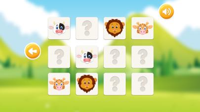 Animal Pairs Matching Games for Toddler & Kids screenshot four