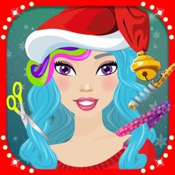 Christmas Girls Hair Makeover Salon - Free Games