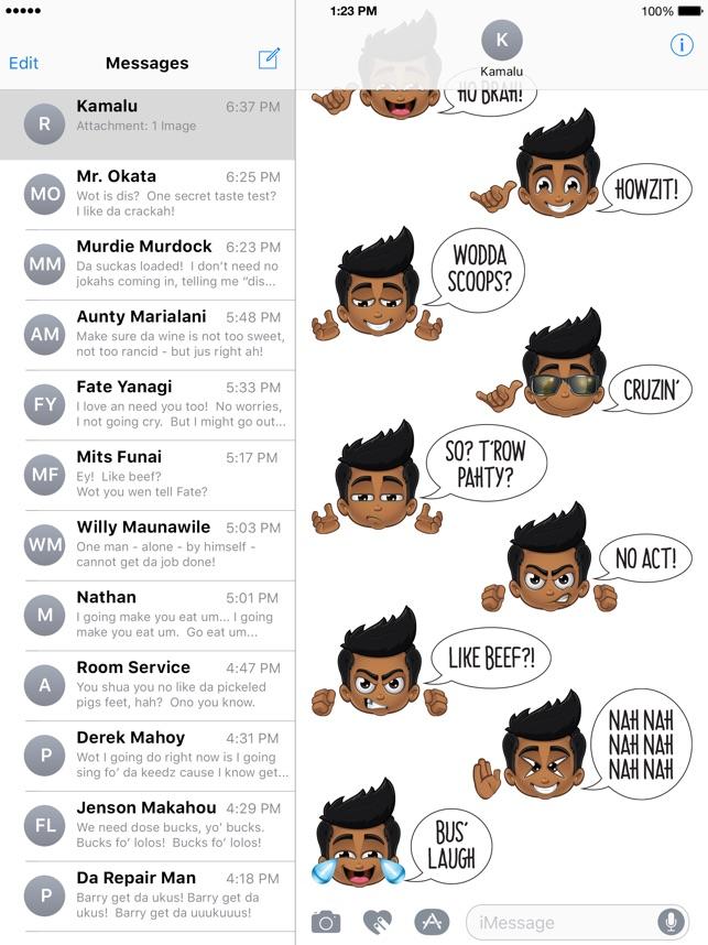 Animated Pidginmoji - Stickers Screenshot