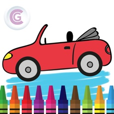 Activities of Mini Car Coloring - The painting car games