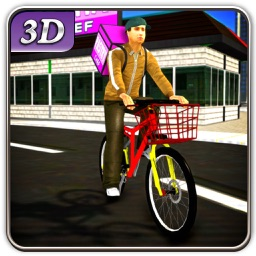 Bicycle Pastry Delivery & City Bike Rider Sim