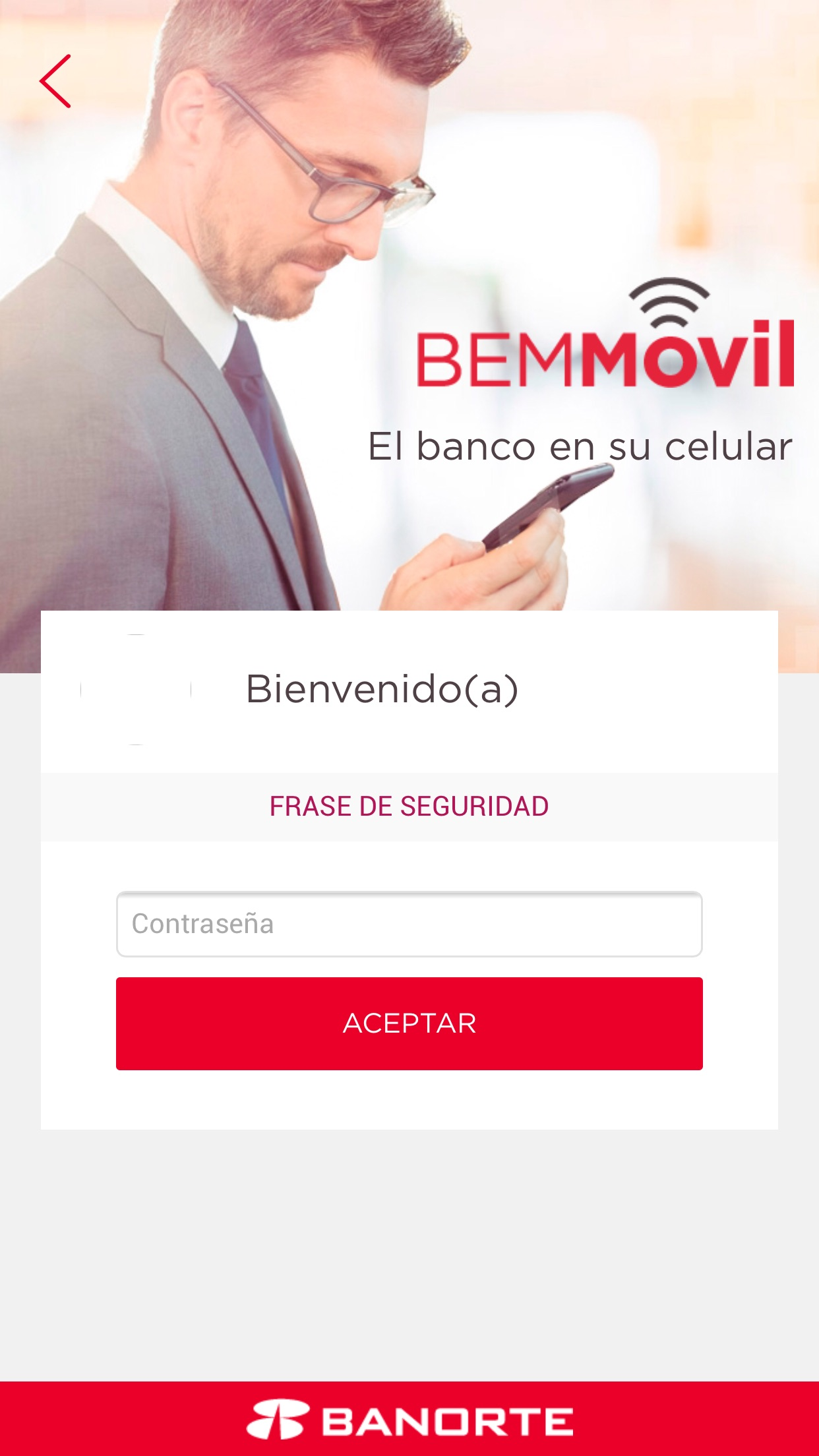 BEM Móvil Screenshot