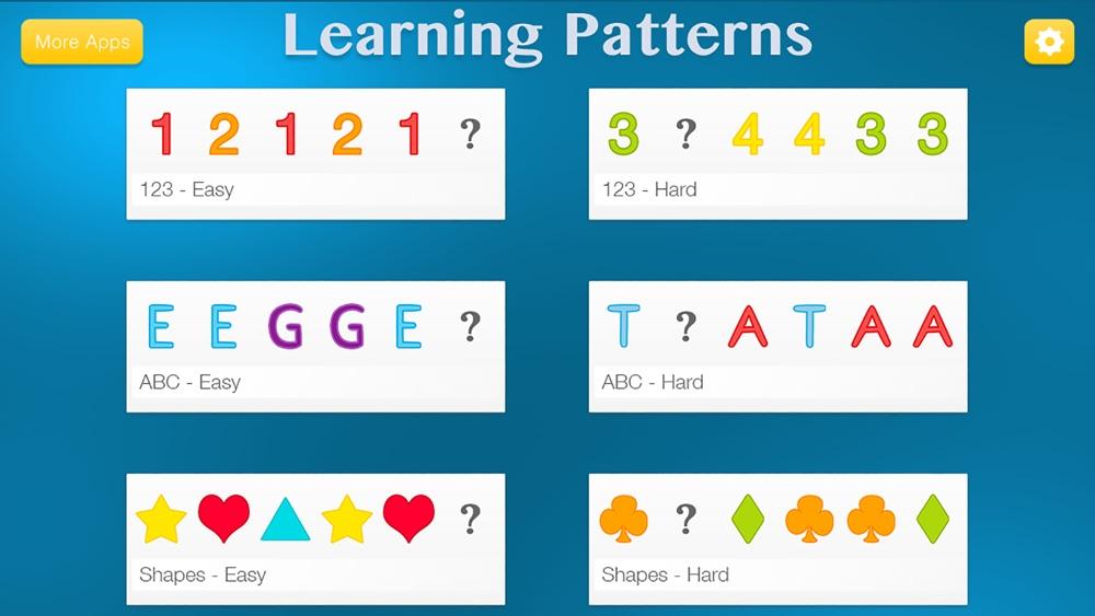 Learning Patterns – Pattern & Logic Game for Kids