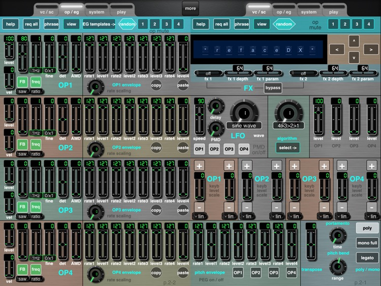 MDDX1 for the Yamaha reface DX screenshot-3