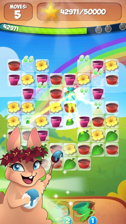 Easter Egg Games Surprise Eggs Match 3 Puzzle Game screenshot-3