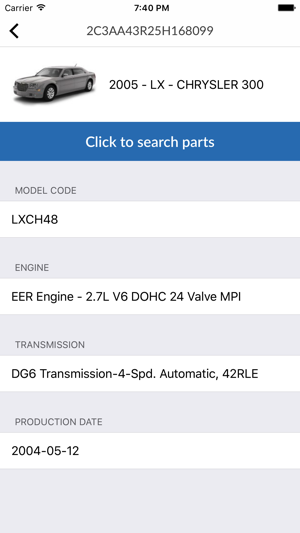 Car Parts for Chrysler - ETK Spare Parts Diagrams on the App Store