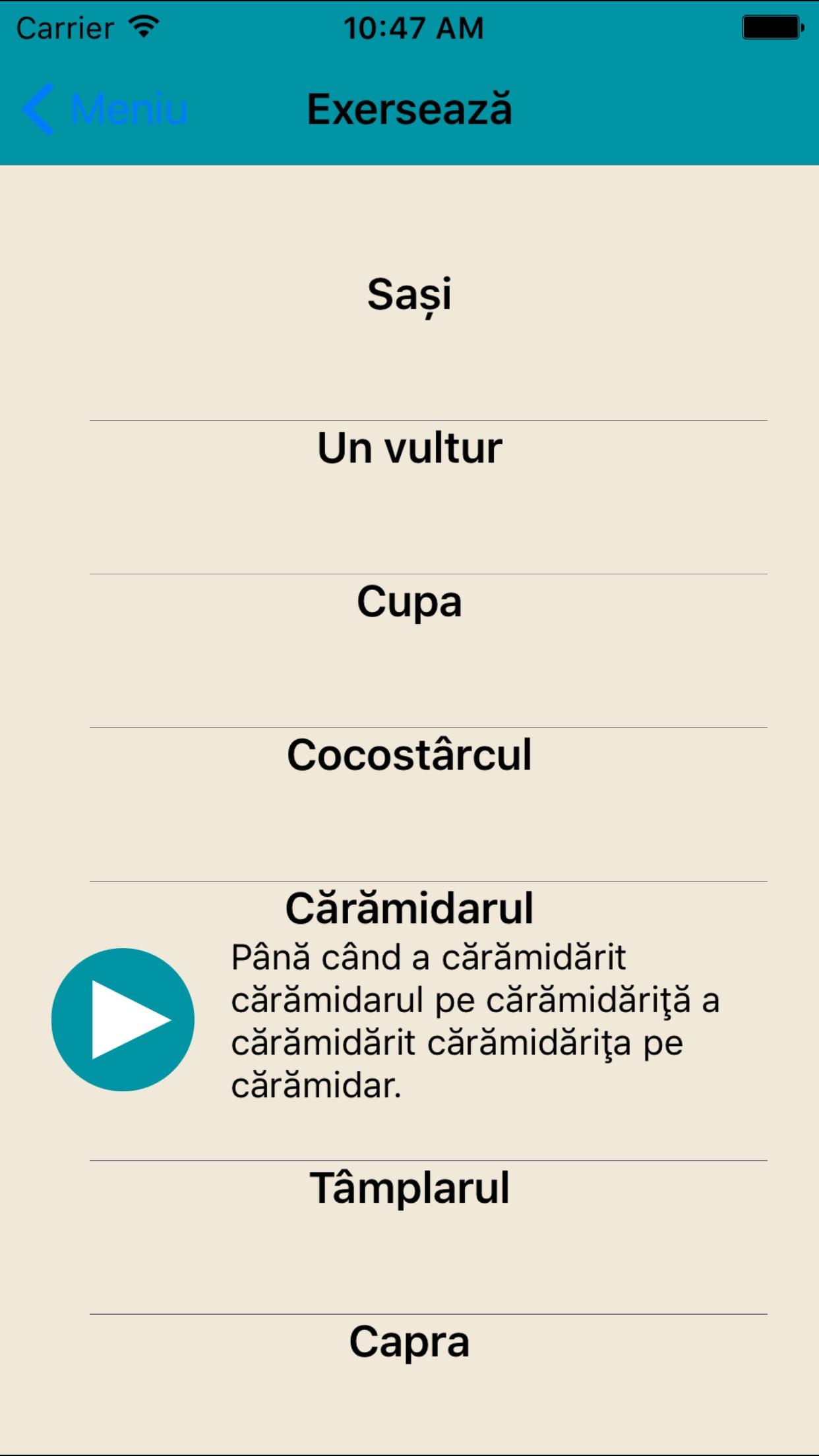 Dictie.ro Screenshot