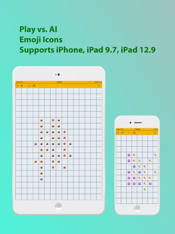 Screenshot of Emoji Icons Othello Game (EIOG)