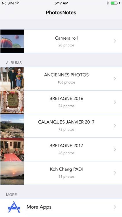 PhotoNotes - See and Edit Your Photo's Metadata