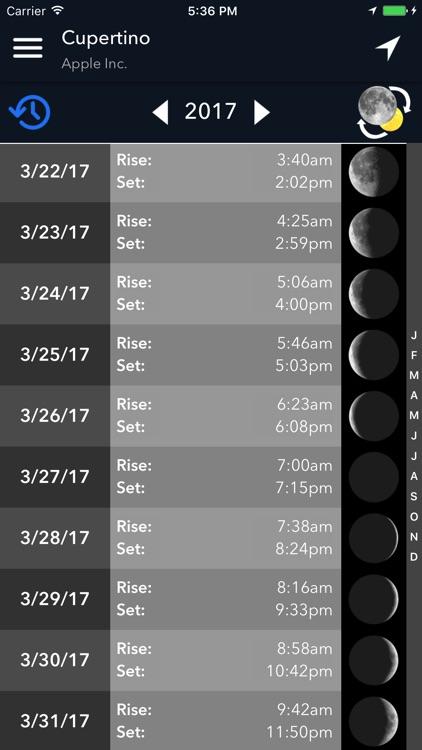 Lumos: Sun and Moon Tracker screenshot-3