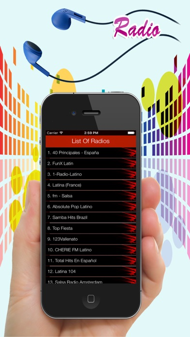 Latino Music Radio Stations - Top Hits