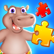 Activities of Wild Animal Jigsaw Puzzles for Toddlers
